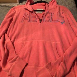 American Eagle half zip